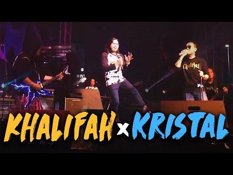KHALIFAH & KRISTAL Di Konsert Final Joharockstar