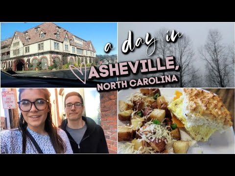 A Day in Asheville, NC || What to see, eat & do in Asheville, North Carolina!