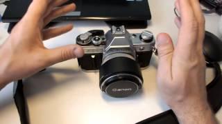 Canon AE-1 які підходять спалаху і пара розумних і не дуже думок