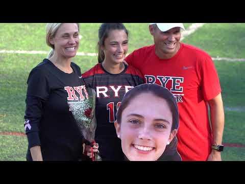 Rye High School Senior Day Girls Varsity Soccer 10/14/19