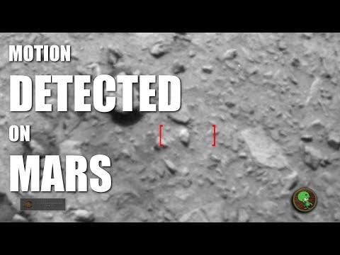 Motion Detected on Mars