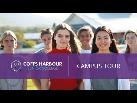 Coffs Harbour Senior College Campus Tour 2015