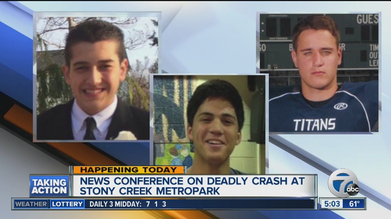 Update today on deadly Stony Creek crash