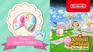 Animal Crossing: Pocket Camp - Pastel Glazier Cookie