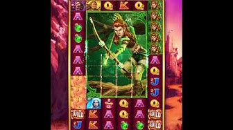 QUEST OF LEGENDS Video Slot Casino Game with a FREE SPIN BONUS
