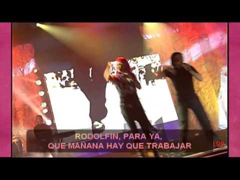 Karaoke María Isabel ¡No me toques las palmas que me conozco!