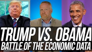 FACTS DON'T CARE ABOUT YOUR FEELINGS! Obama's Economic Record Crushes Trump's!