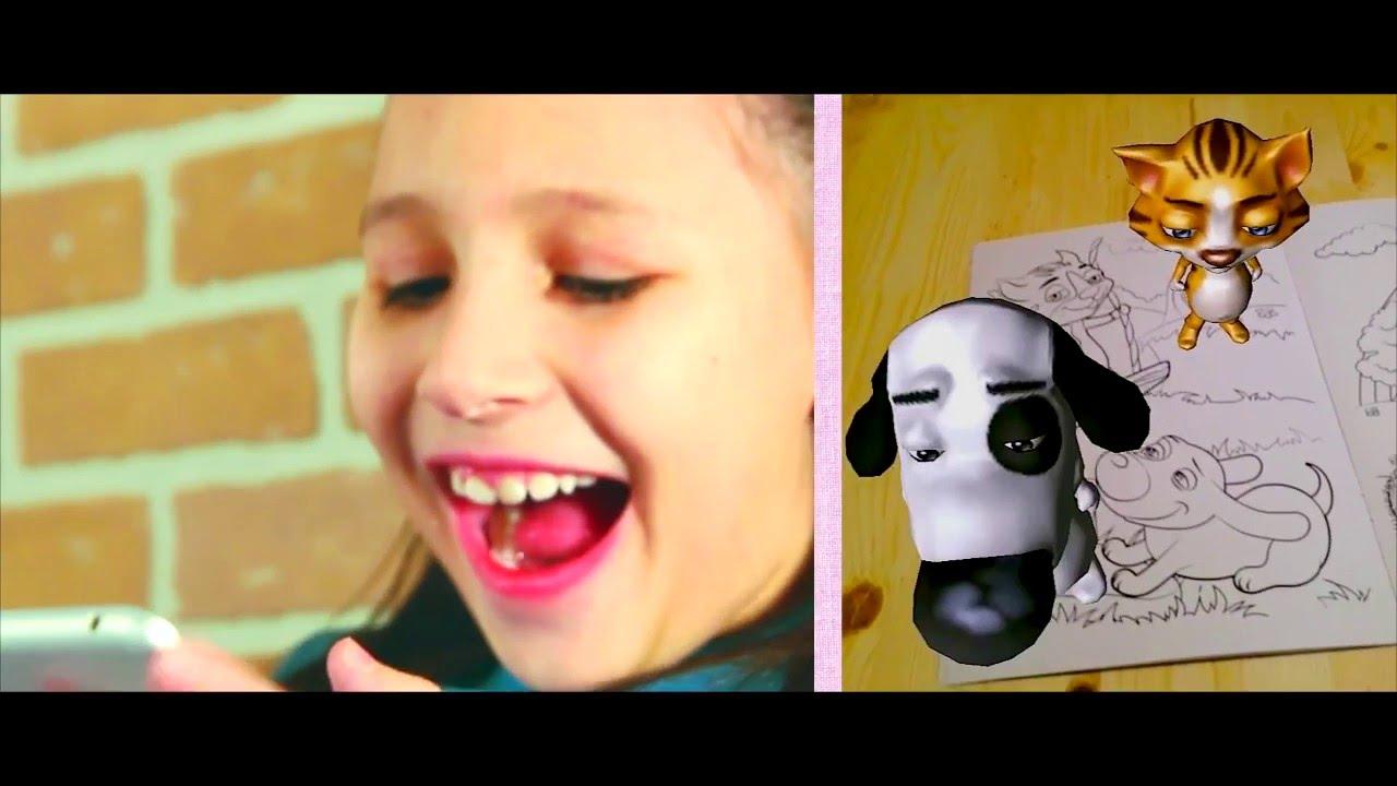 """3D Раскраска """"Принцесса и её друзья"""" теперь на Цветное.ру ..."""