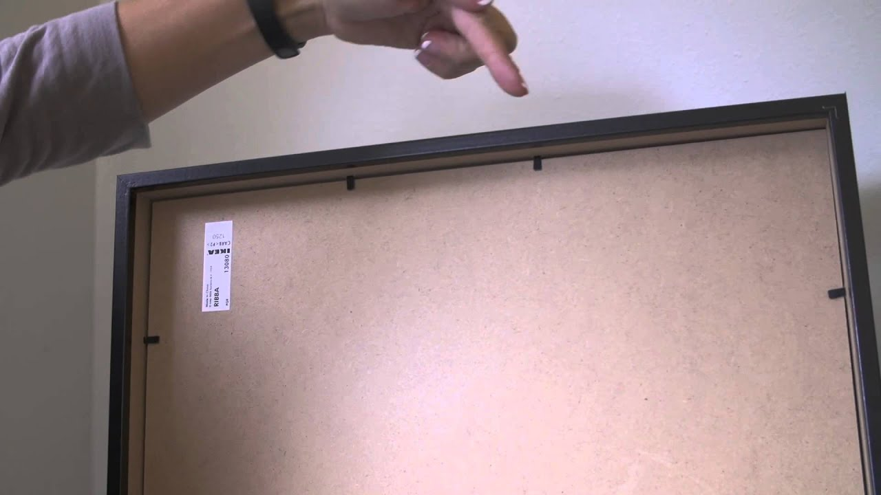 How to Hang Pictures Without Wire : Getting Crafty - YouTube