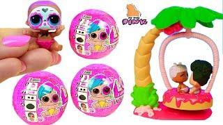 ХЛОПЧИК І ДІВЧАТКА ЛОЛ ЗА ПОНЧИКАМИ ШОПКИНС #LOL Surprise Baby Dolls Eye Spy Wave 2 Мультик Іграшки