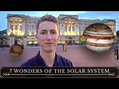 THE 7 WONDERS OF THE SOLAR SYSTEM | ASTRONOMICAL - EP 4 (4K) 🌕🌋🌊