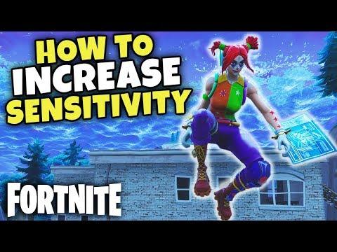 How To Increase Sensitivity In Fortnite | Adapt Settings