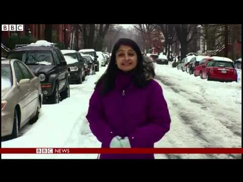 More snow hits US north east