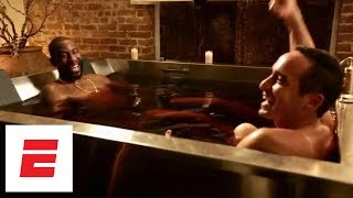 Bathing in wine with Amar'e Stoudemire   Hang Time with Sam Alipour   ESPN Archives