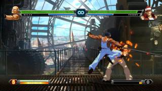 Console Combo - The King of Fighters XIII - Gameplay Video
