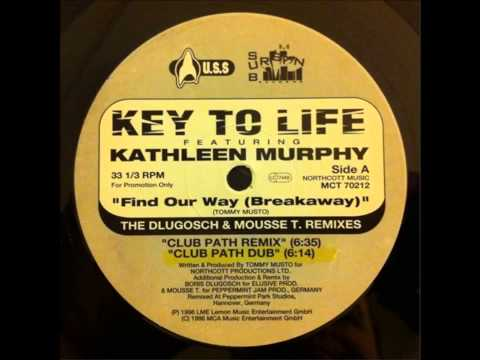 Key To Life Featuring Kathleen Murphy ‎– Find Our Way (Breakaway) (Club Path Remix)