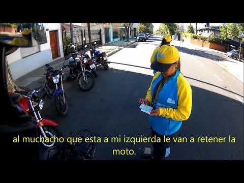 peligro!!, control policial / Danger!!, police control. Argentina. Motovlog
