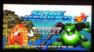 Space Harrier On PS2