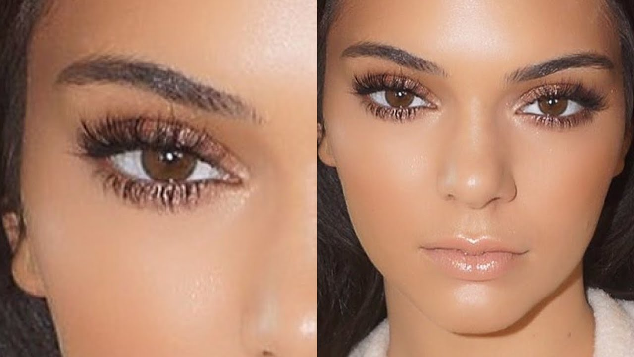 Kendall jenner natural glowing makeup tutorial 2015 youtube baditri Gallery