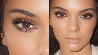 Kendall Jenner Natural Glowing Makeup Tutorial 2015