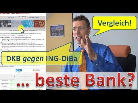 Dkb Oder Ing Diba Vergleich Youtube