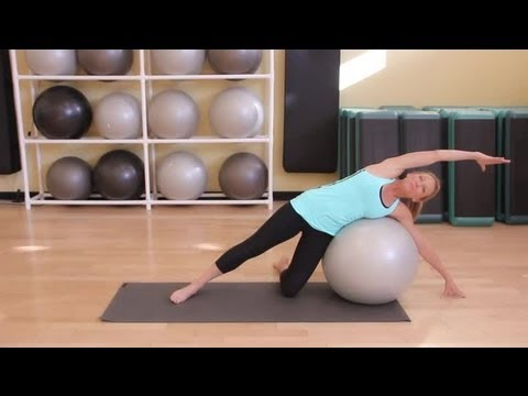stretches  exercises with a yoga ball  yoga tips  youtube