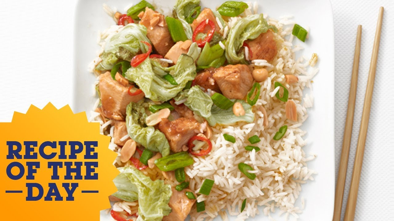 Recipe of the day chicken peanut stir fry food network youtube recipe of the day chicken peanut stir fry food network forumfinder Images