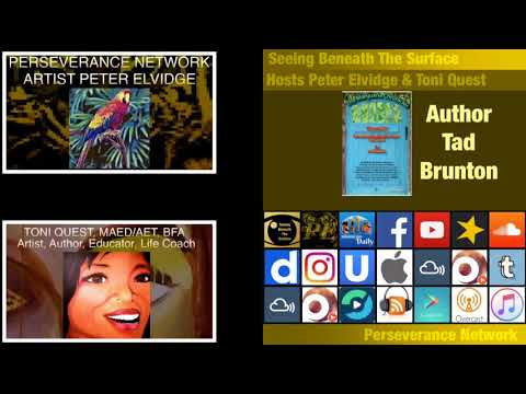 Seeing Beneath The Surface EP 21 Guest Author Tad Brunton Of The Marijuana Chronicles
