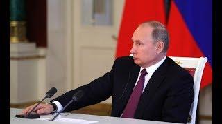 Встреча Путина с руководителями российских печатных СМИ. Прямой эфир