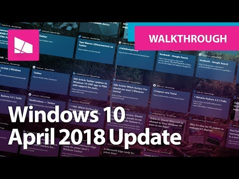 Windows 10 April 2018 Update - Official Release Demo