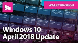 Скачать Windows 10 April 2018 Update Official Release Demo