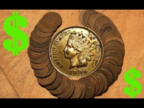 Old Indian Head Pennies Worth  Money | Coin Collection Pt. 11