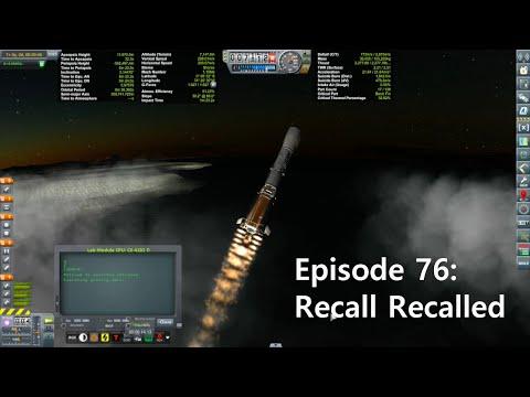 KSP Career: Episode 76 - Recall Recalled
