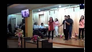River Of God - P&W 25 September 2016 - Vena & Yohanes
