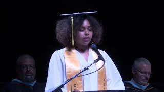 Young Woman Shares Graduation Speech while Battling Grief