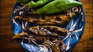 How To Roast Chile Peppers | At Home Fast | Muy Bueno