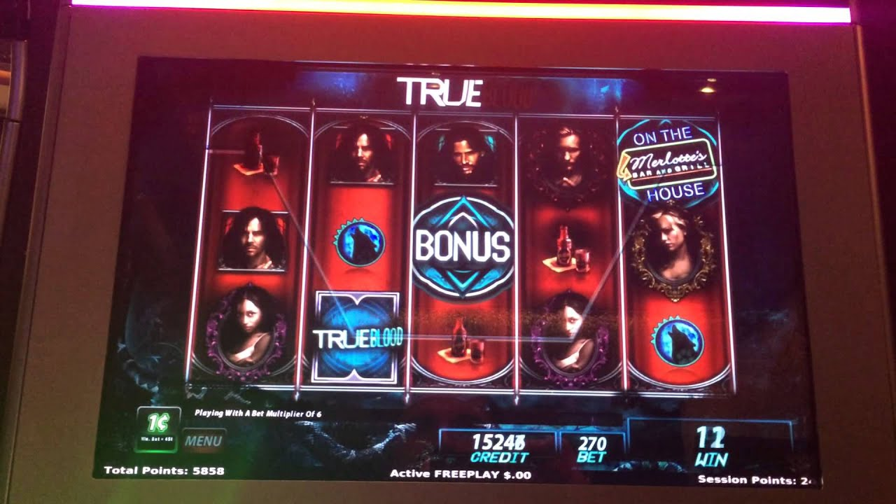 True Blood Slot Machine