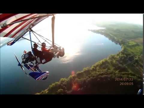Trike Flight Lake Madison, SD