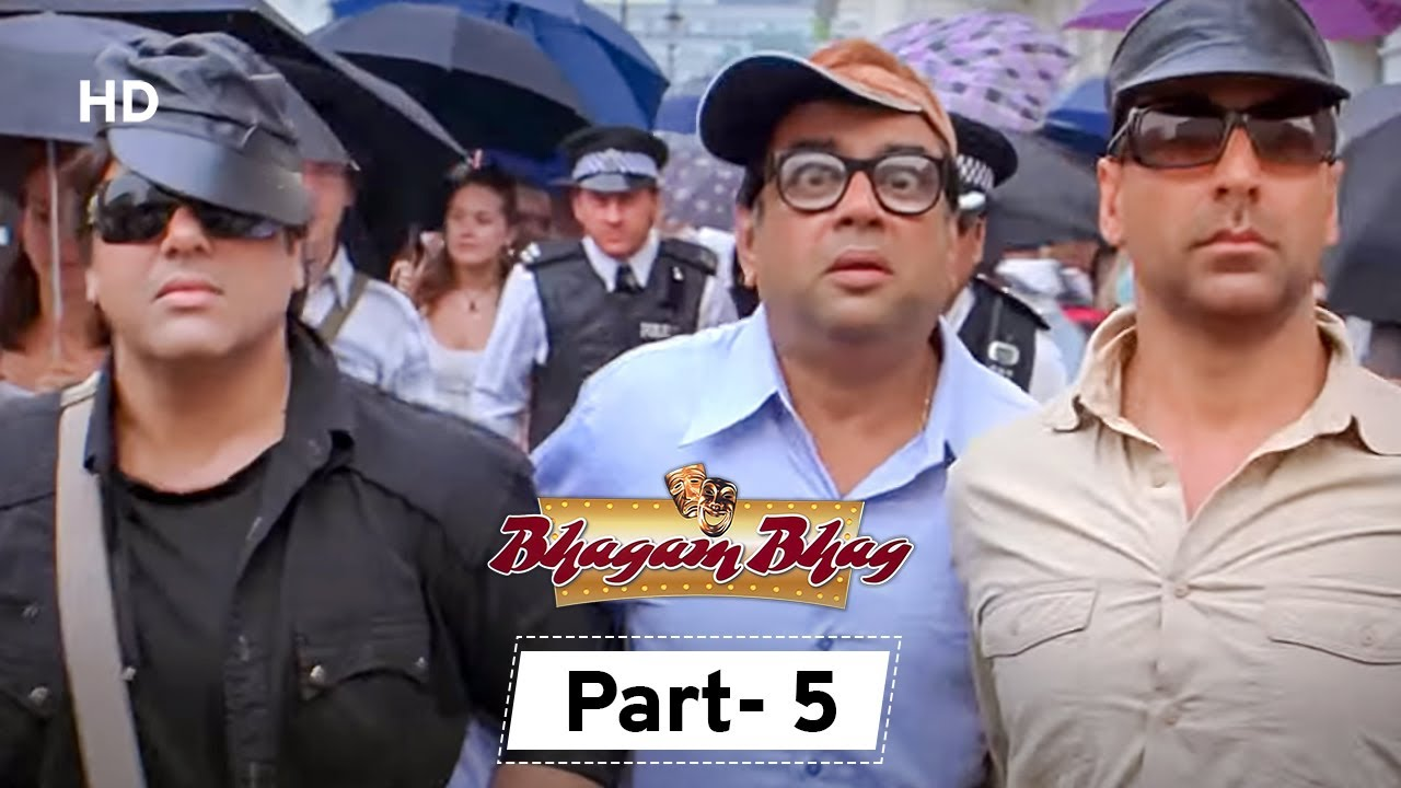 Download Bhagam Bhag - Movie In Parts 05 | Akshay Kumar - Govinda - Lara Dutta - Paresh Rawal