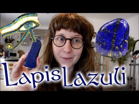 MYSTIQUE LAPIS LAZULI - Minéralogie et lithothérapie