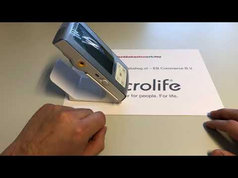 Productvideo Microlife BP A6 BT Bloeddrukmeter