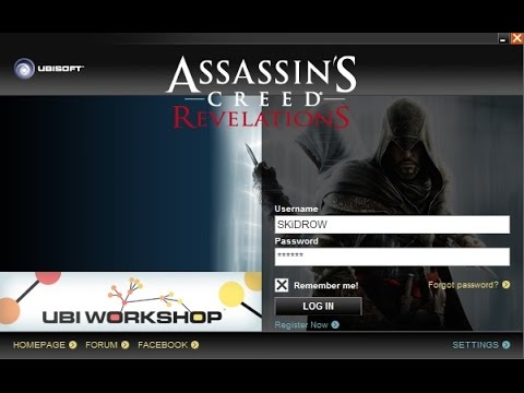 Assassins Creed Revelations how to skip skidrow user and password