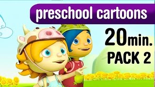 20 minutes of cartoons for preschool kids and toddlers. k-5 series
