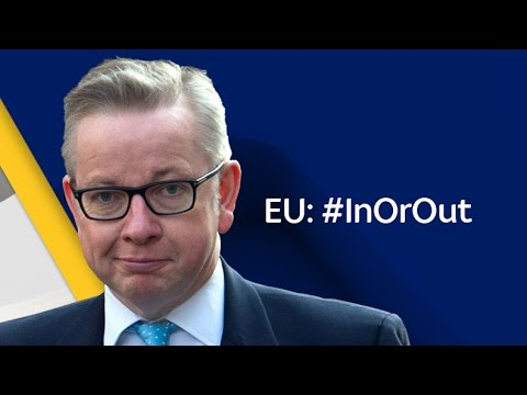 Michael Gove - 'EU: In Or Out?'