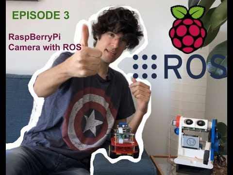 How to build a Raspberry Pi & ROS Camera Robot | Ep 3 | The Construct