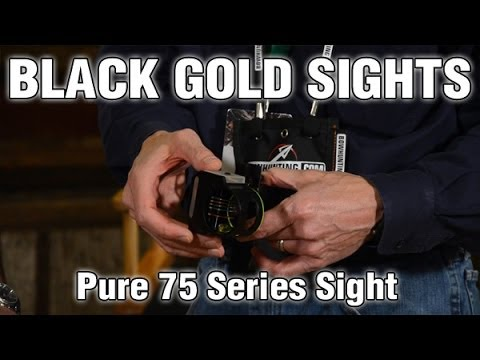 Black Gold Sights Pure 75 Series