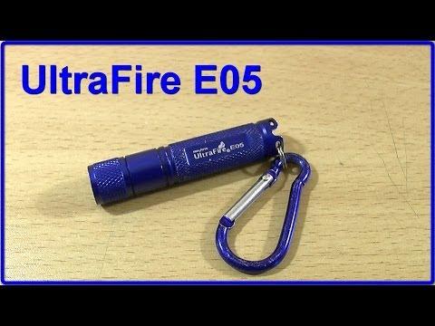 UltraFire E05 - фонарь