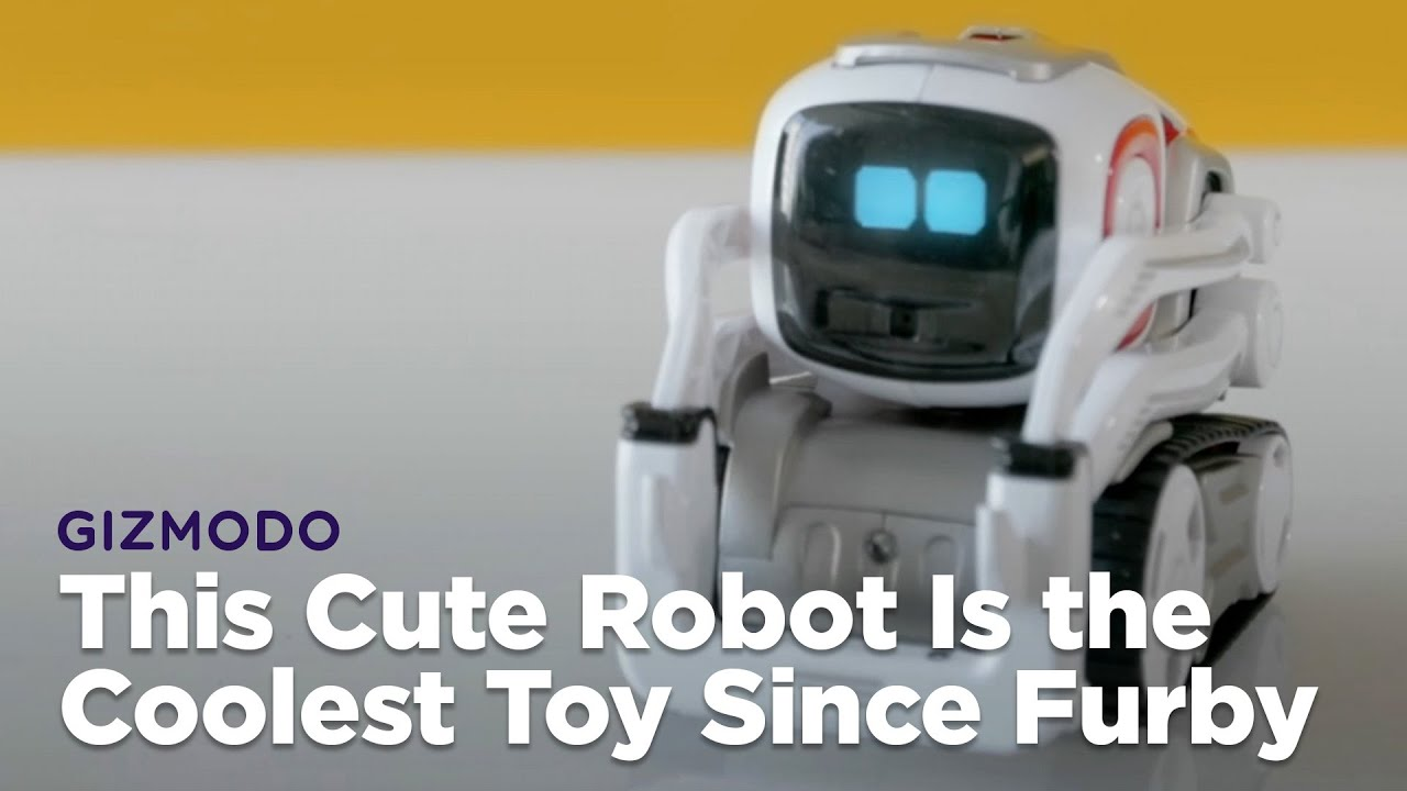 this cute robot is