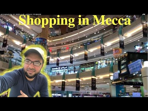 Shopping in Mecca, Saudi Arabia