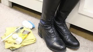 How to Clean: Tall boots